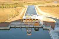 Wasserkraft - Hamzali, Türkei